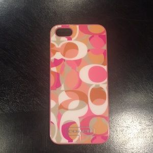 COACH IPHONE 5 Phone Case